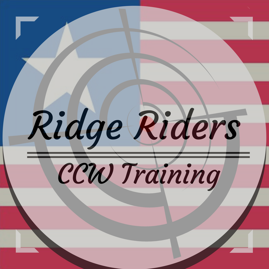Ridge Riders CCW Training